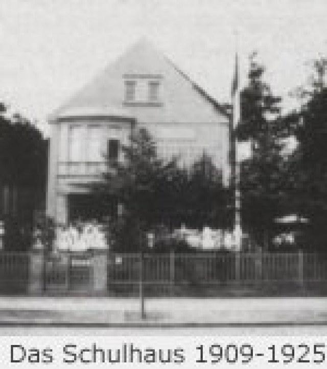 Das Schulhaus 1909-1925