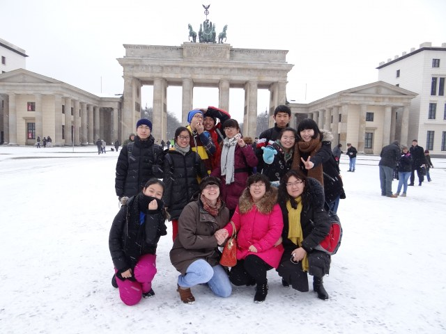 Chinesen in Berlin 2014