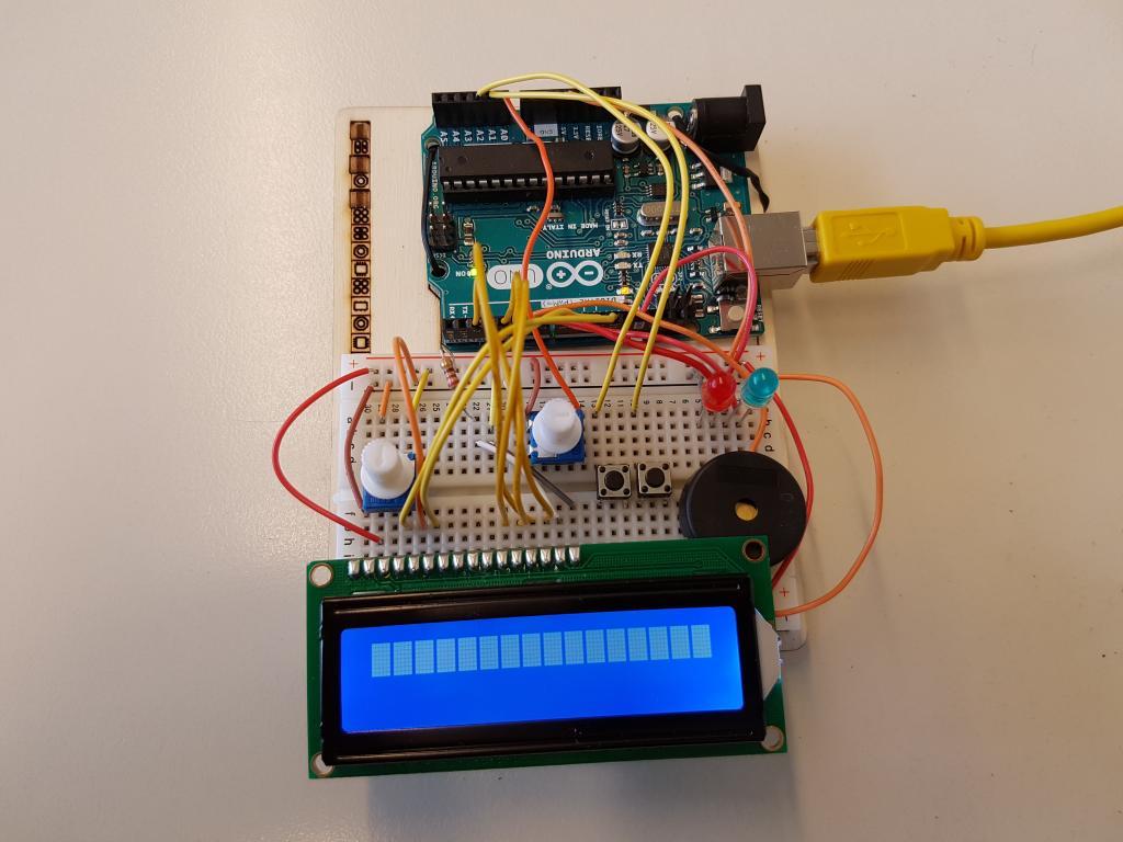 Arduino projekt metronom werner von siemens gymnasium