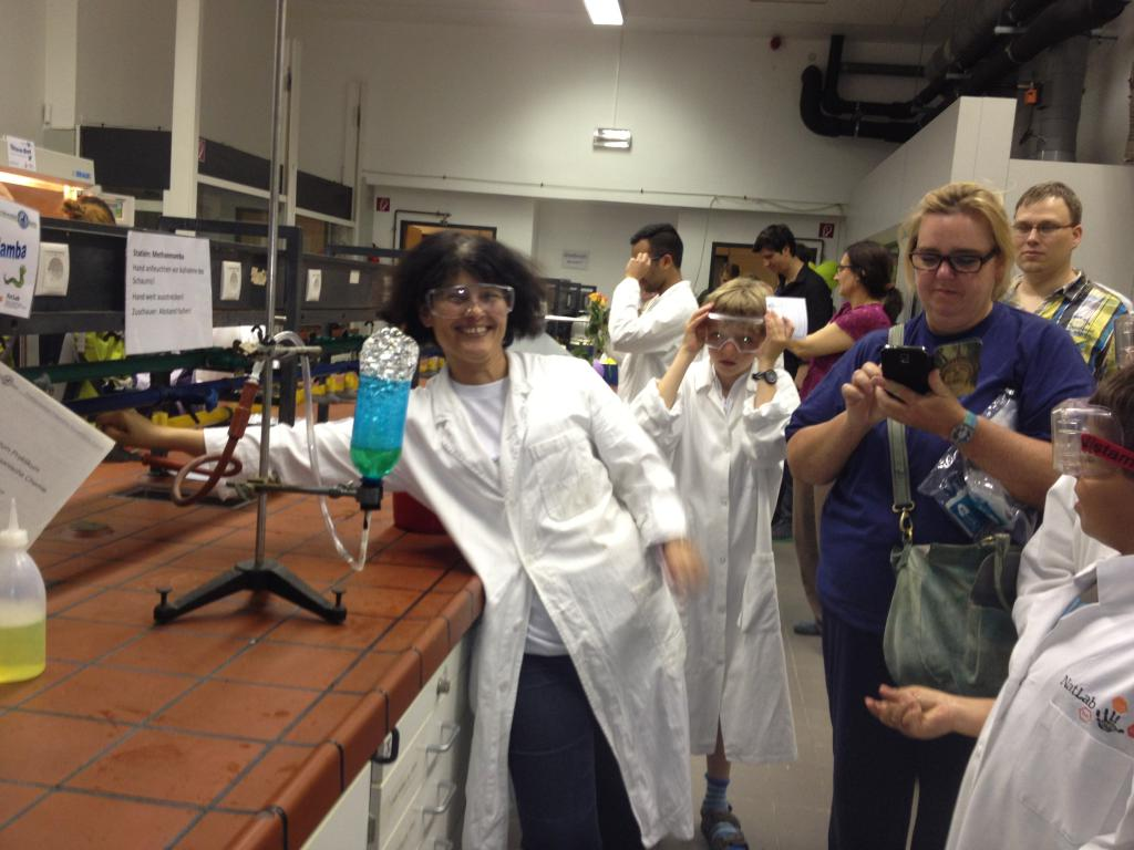 WvS ist aktiv beteiligt an der Langen Nacht d. Wissenschaft