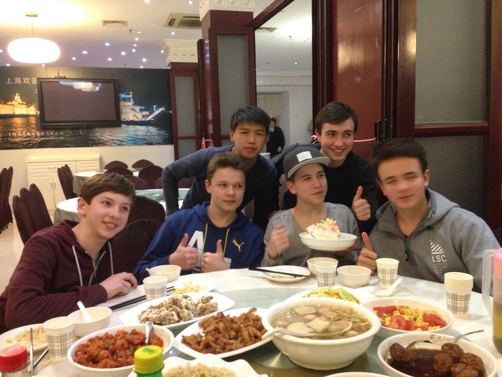 Schüeraustausch mit China 2016