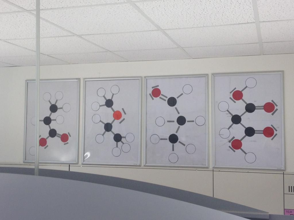 Organische Moleküle. Foto v. A. Kube & R. Sonnenhol